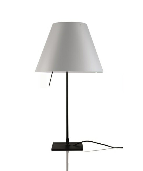 Image of   Costanzina Bordlampe Sort/Mistic White - Luceplan