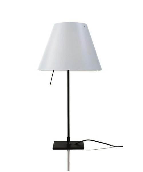 Image of   Costanzina Bordlampe Sort/White - Luceplan