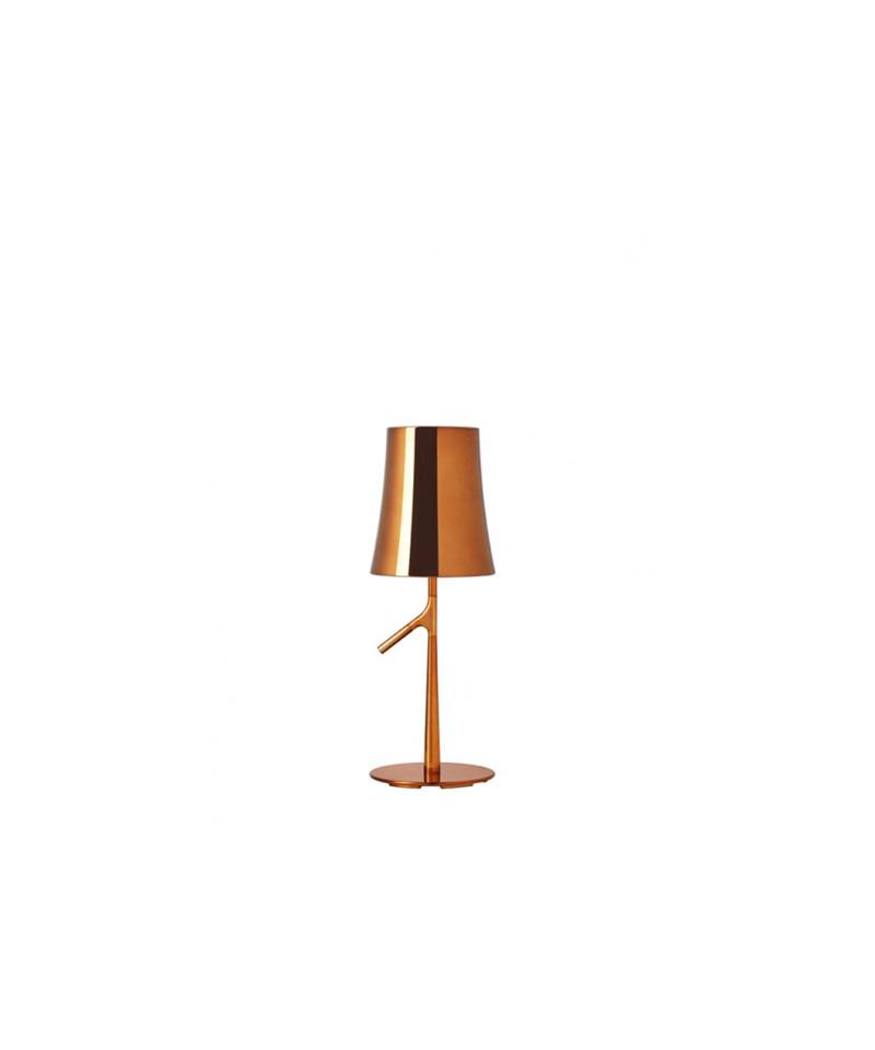 Image of   Birdie Grande Metal Bordlampe Kobber - Foscarini