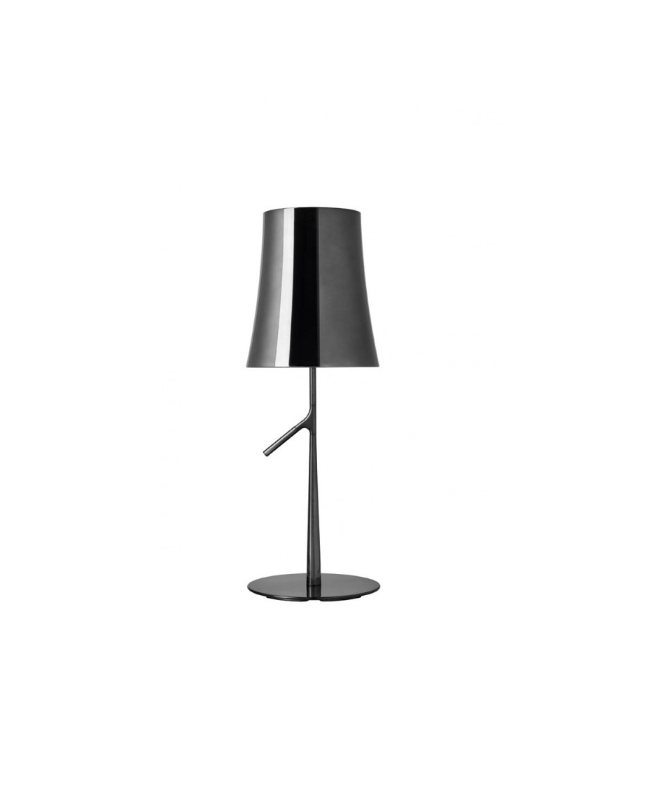 Image of   Birdie Piccola Metal Bordlampe Sort Krom - Foscarini
