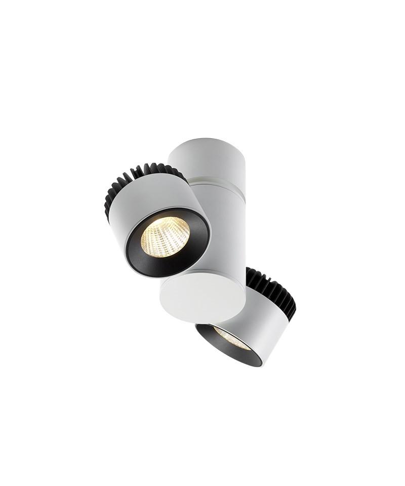 Zoom 2 Væglampe/Loftlampe Hvid - LIGHT-POINT