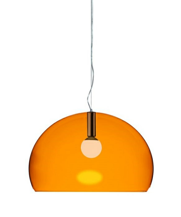 Image of   Big Fl/y Pendel Orange - Kartell