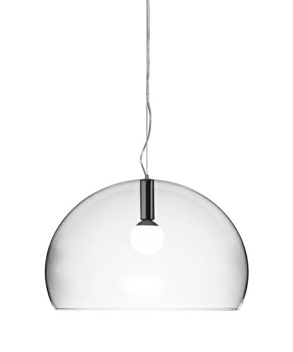 big fl y pendel krystall kartell. Black Bedroom Furniture Sets. Home Design Ideas
