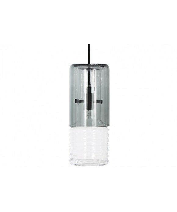 Image of   Flask Pendel Smoke Long - Tom Dixon