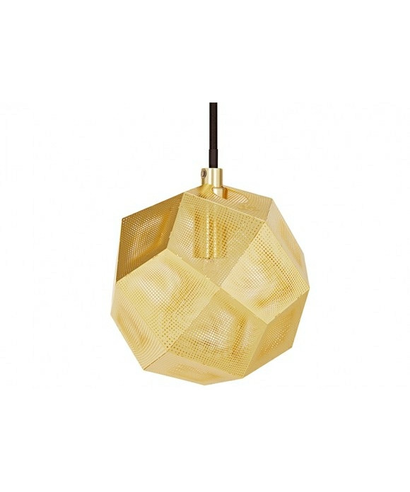 Image of   Etch Mini Pendel Messing - Tom Dixon