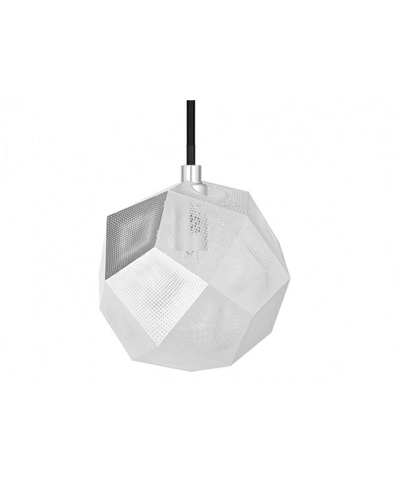 Image of   Etch Mini Pendel Soft Silver - Tom Dixon