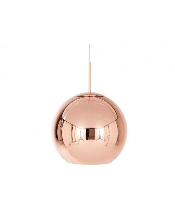 Image of   Copper Shade Pendel Rund Ø45 - Tom Dixon