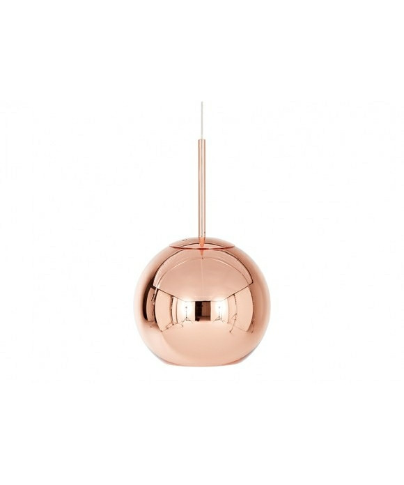 Image of   Copper Shade Pendel Rund Ø25 - Tom Dixon