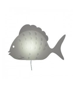 Zoolight – Zoolight sunny fisk væglampe - intermezzo på lampemesteren.dk