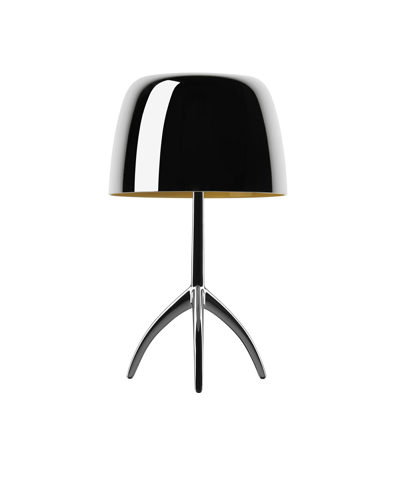 Image of   Lumiere 25th Grande Bordlampe Sort Krom - Foscarini