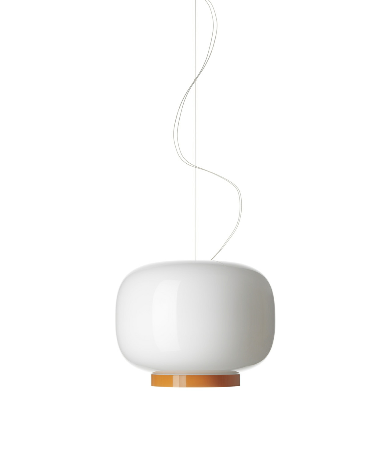 Image of   Chouchin 1 Reverse Pendel Hvid/Orange - Foscarini