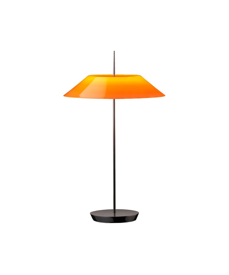 Vibia – Mayfair bordlampe blank sort/orange - vibia fra lampemesteren.dk