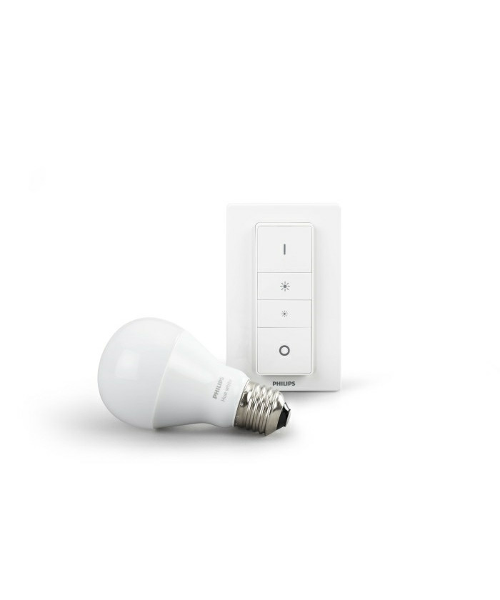 Image of   Philips Hue White DIM Kit 9,5W E27