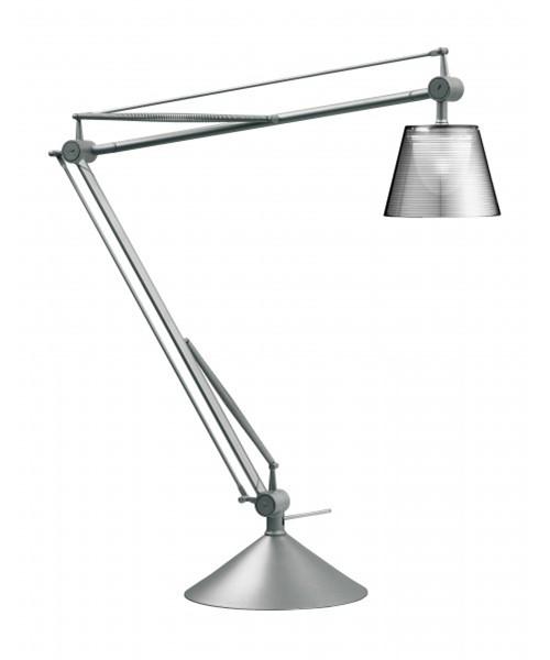 Image of   Archimoon K Bordlampe Sølv - Flos