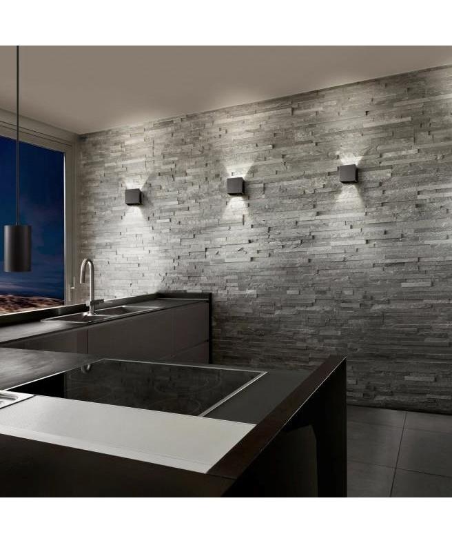 box up down led v glampe sort light point. Black Bedroom Furniture Sets. Home Design Ideas