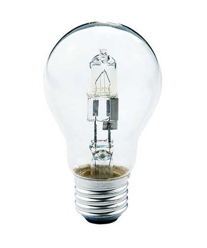 N/A Pære 57w halogen e27 fra lampemesteren.dk