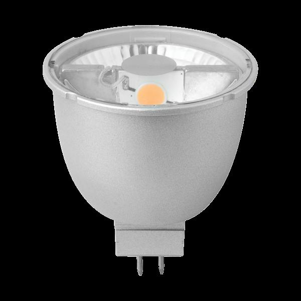 Image of   Pære LED 6W Reflektor 36° MR16, GU5,3 - Megaman