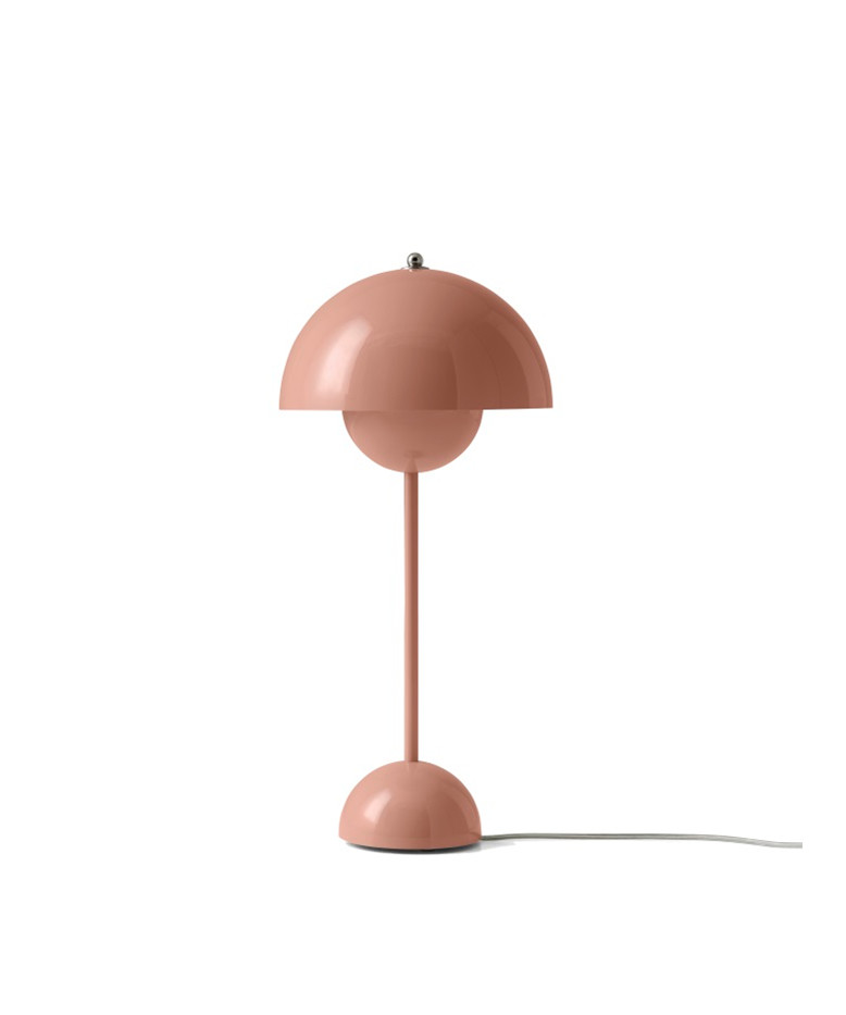 Image of   Flowerpot VP3 Bordlampe Beige Red - &tradition