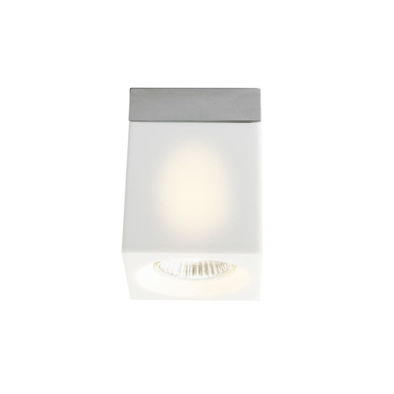 Image of   Ice Cube Downlight/Påbyg Loftlampe Frostet - Fabbian