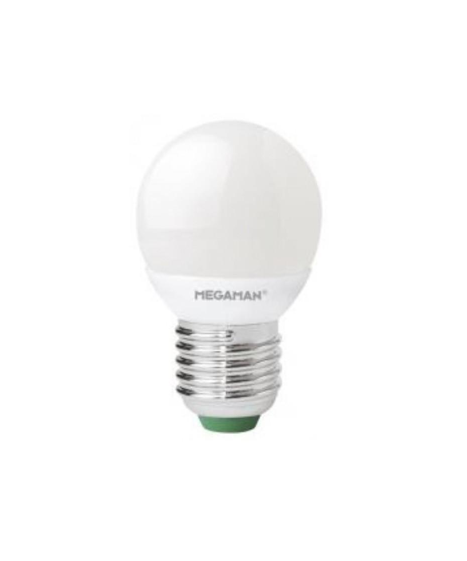 Image of   Pære LED 3,5W Classic Krone E27 - Megaman