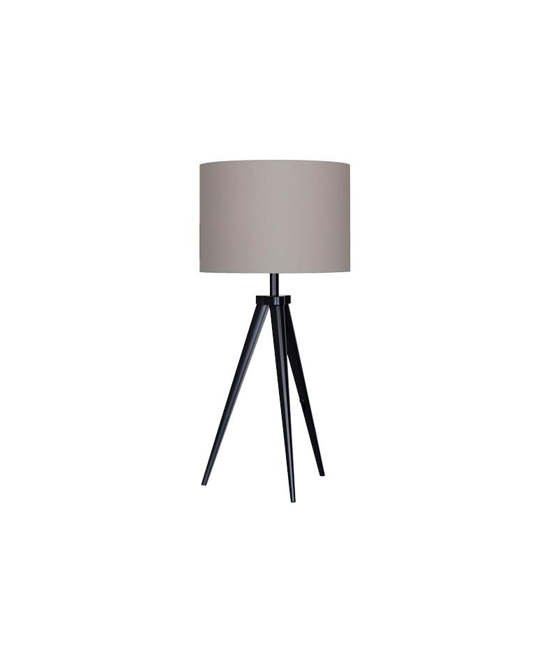 Darø – Paso tri 25 t1 uni bordlampe sort/grå - darø fra lampemesteren.dk