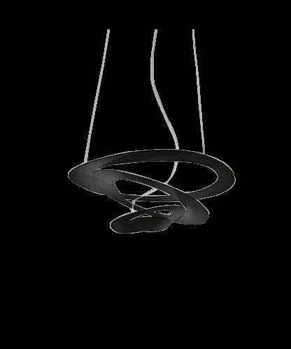 Artemide Pirce micro led pendel sort - artemide på lampemesteren.dk