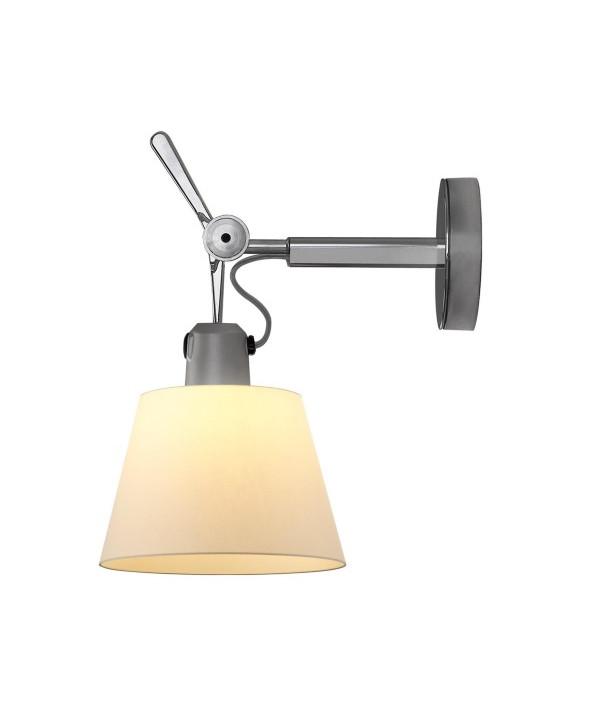 Artemide Tolomeo parete diffusore væglampe Ø24 pergament - artemide fra lampemesteren.dk