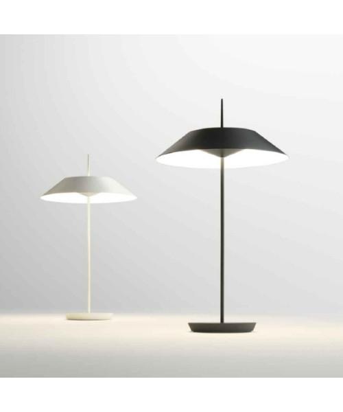 Vibia Mayfair bordlampe mat grafit grå - vibia fra lampemesteren.dk