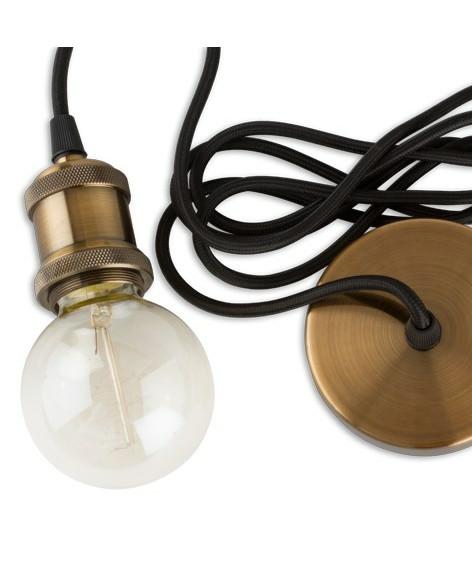 E3light – Ophæng kobber - e3light på lampemesteren.dk