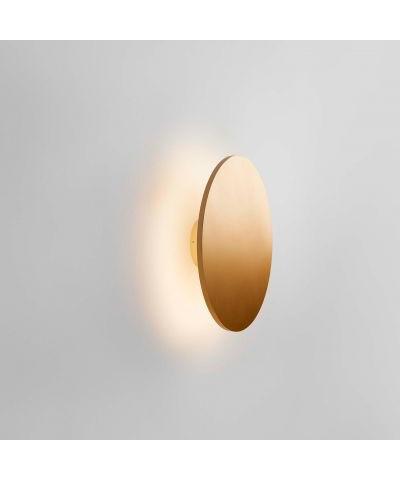 Image of   Soho W3 LED Væglampe Ø30 Guld - LIGHT-POINT