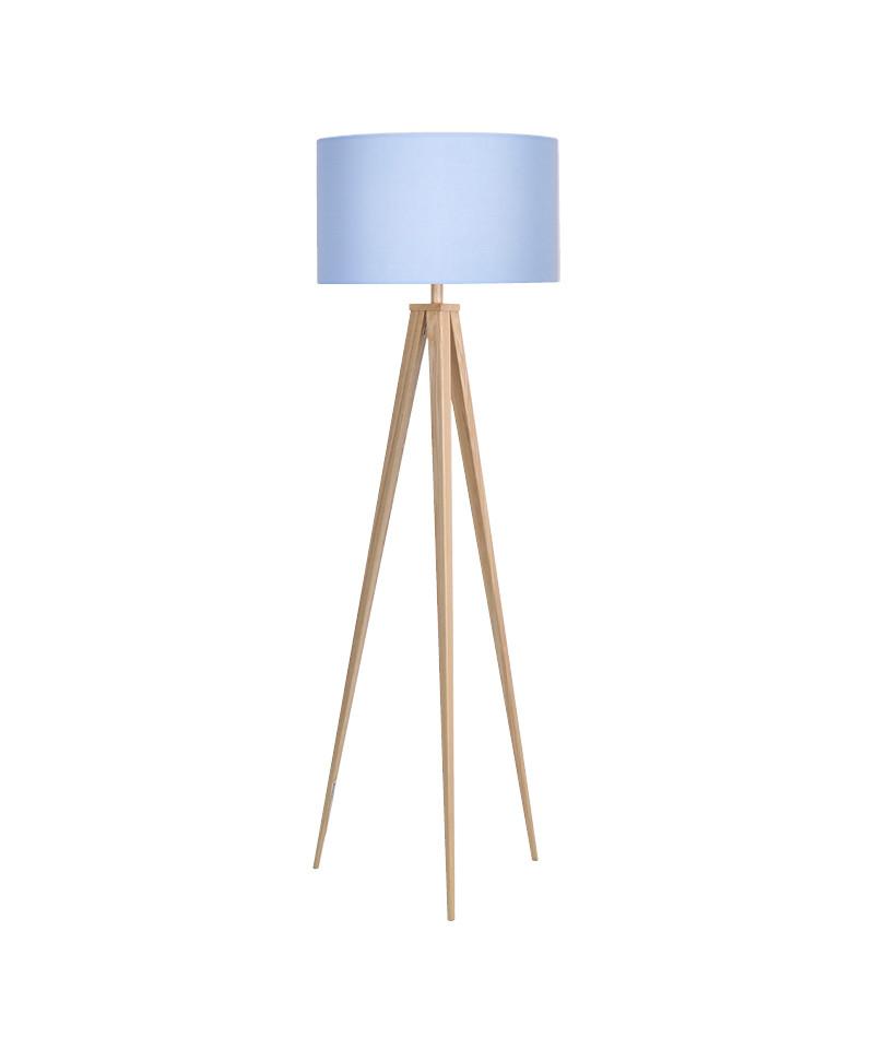 Paso 50 f1 uni gulvlampe eg/sky blå - darø fra Darø fra lampemesteren.dk