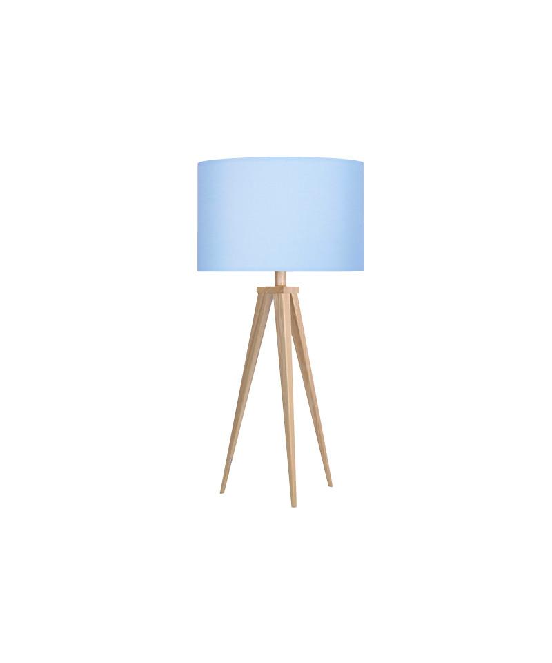 Paso 35 t1 uni bordlampe eg/sky blå - darø fra Darø fra lampemesteren.dk