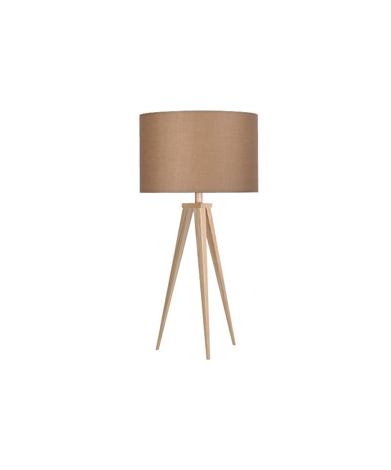 Darø – Paso 35 t1 uni bordlampe eg/natur brun - darø fra lampemesteren.dk