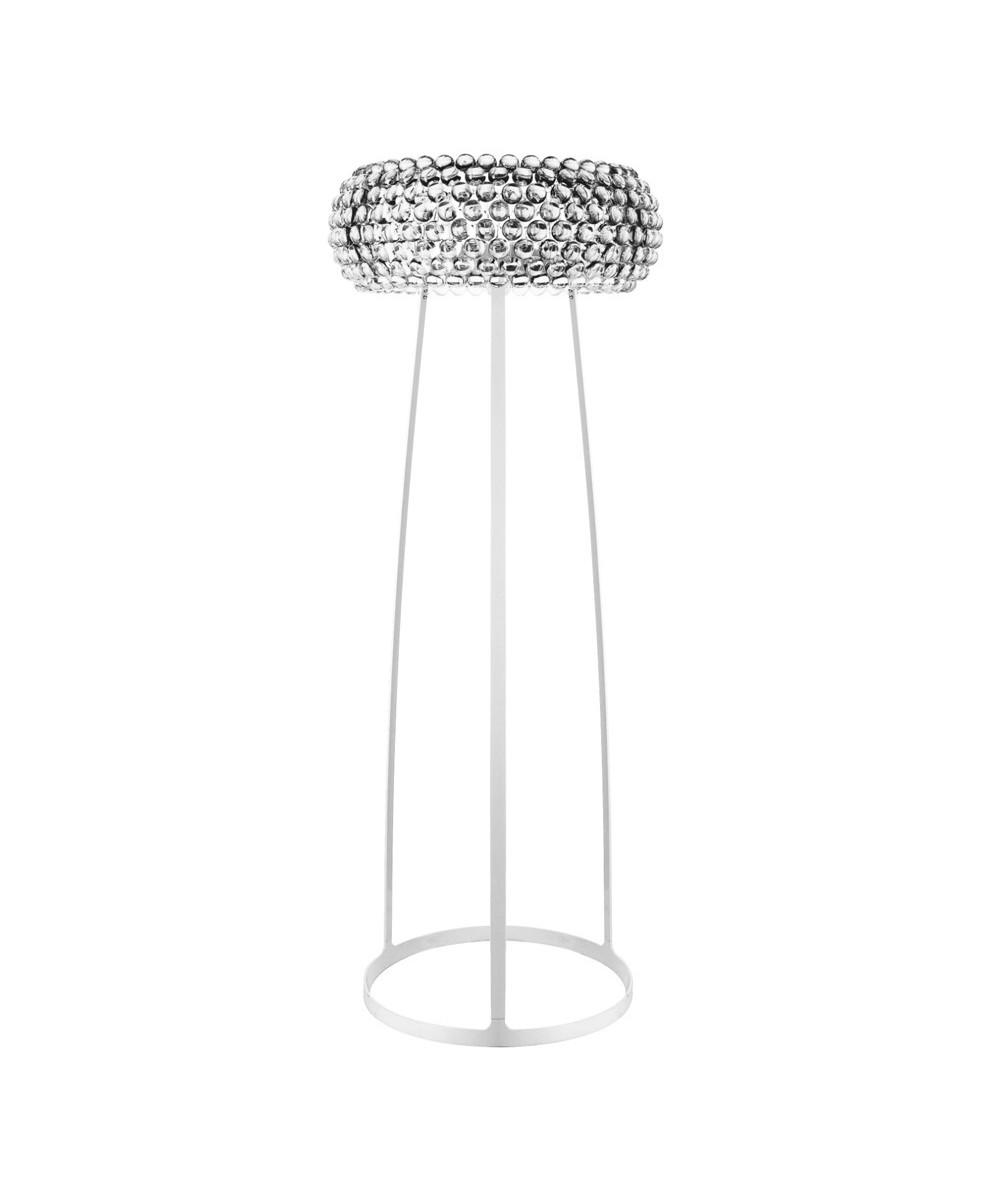 Lampe Caboche Patricia Urquiola caboche floor lamp transparent - foscarini
