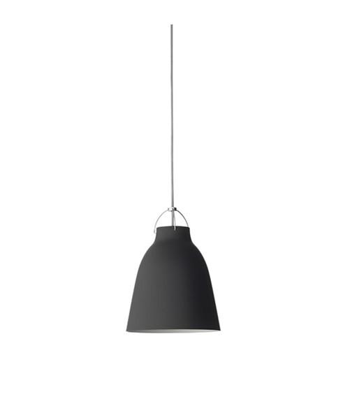 Image of   Caravaggio P2 Pendel Matt Black 3m - Lightyears