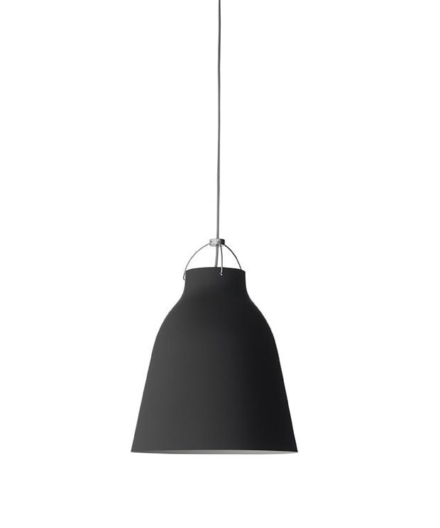 Image of   Caravaggio P3 Pendel Matt Black 3m - Lightyears