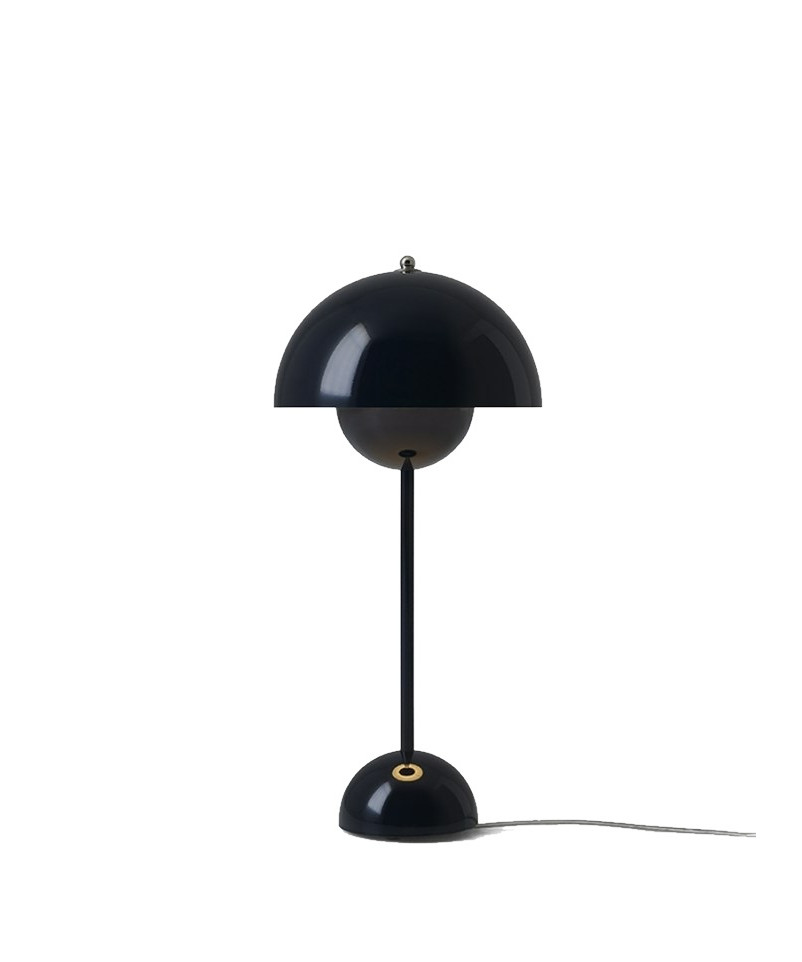Flowerpot vp3 bordlampe black blue - &tradition fra &tradition fra lampemesteren.dk