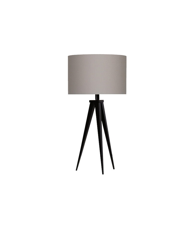 Darø – Paso 35 t1 uni bordlampe sort/grå - darø fra lampemesteren.dk