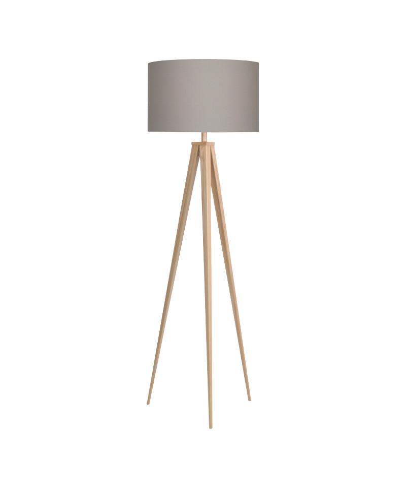 Paso 50 f1 uni gulvlampe eg/grå - darø fra Darø fra lampemesteren.dk