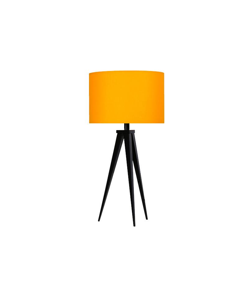 Darø – Paso 35 t1 uni bordlampe sort/sart gul - darø på lampemesteren.dk