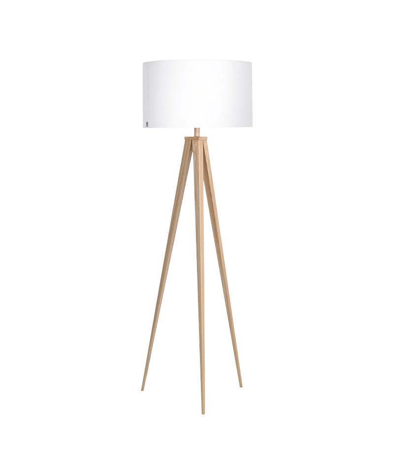 Darø – Paso 50 f1 uni gulvlampe eg/sne hvid - darø på lampemesteren.dk