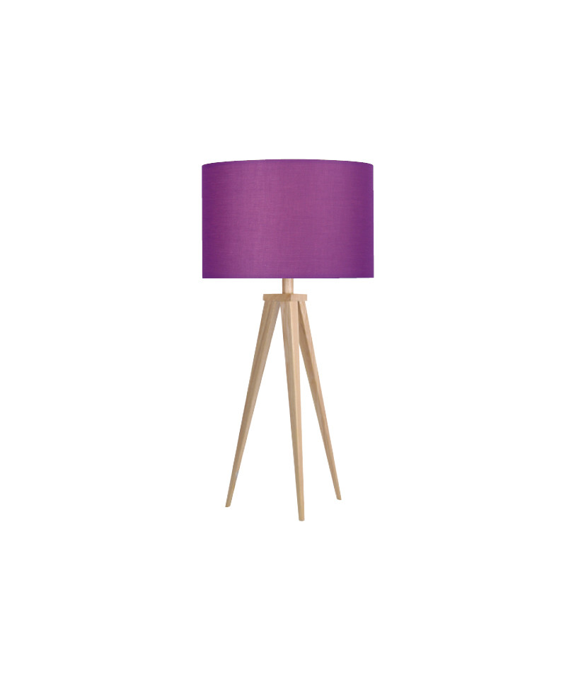 Darø – Paso 35 t1 uni bordlampe eg/dyb lilla - darø fra lampemesteren.dk