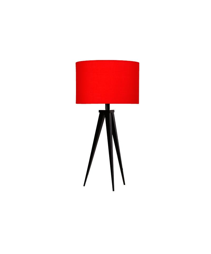 Paso 35 t1 uni bordlampe sort/rød - darø fra Darø fra lampemesteren.dk