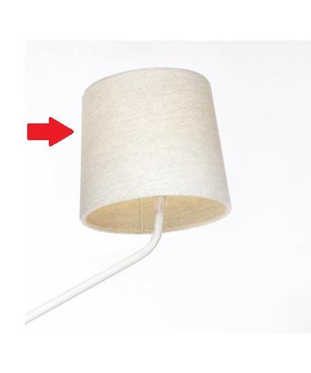 N/A – Skærm groggy hvid - northern lighting fra lampemesteren.dk