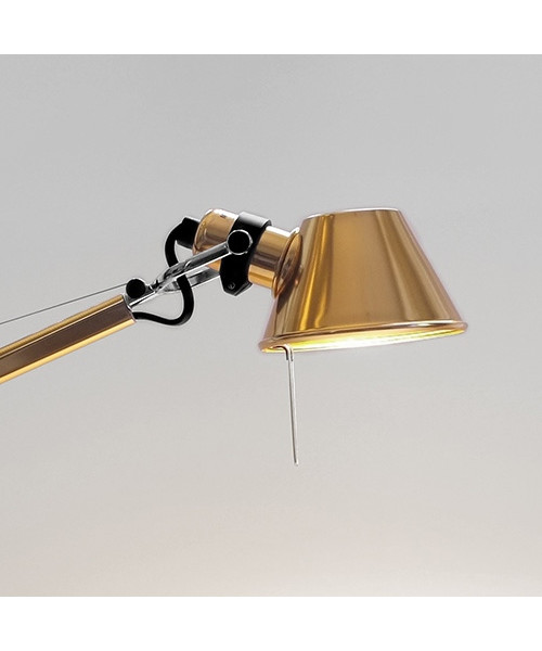 Tolomeo Micro Bordslampa Guld - Artemide : bordslampa guld : Inredning
