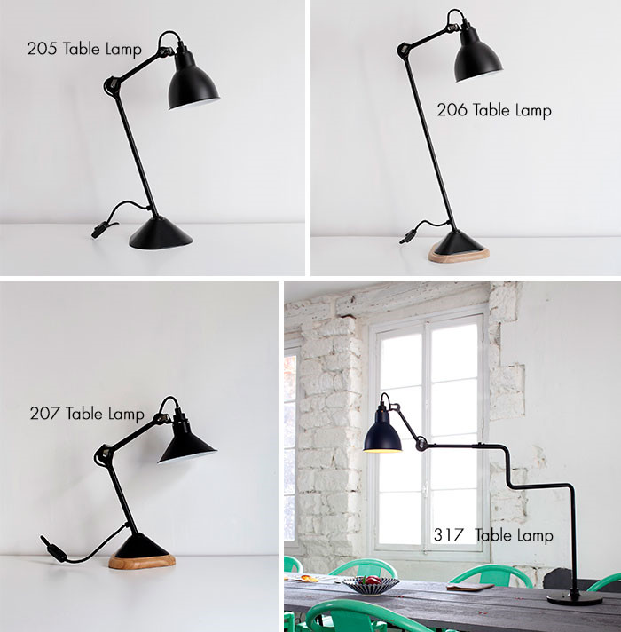 Read our guide about the popular lamps from Lampe Gras right here ...