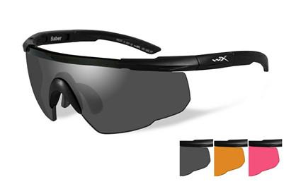 Wiley X - Saber Advanced Grey/ Light Rust/Vermillion (3 linser)