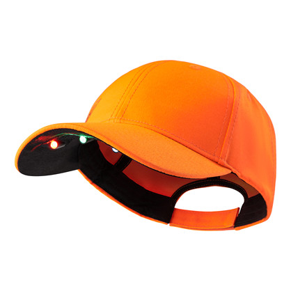 Deerhunter Kasket med LED Lys -Orange