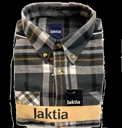 JAKTIA FLANNELSKJORTE - GRØN