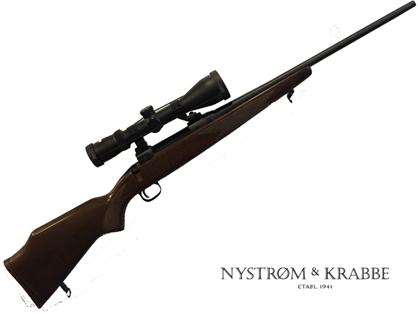 Brugt Savage Model 110 riffel incl. Kikkert